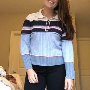💛 vintage striped sweater by Liz Claiborne